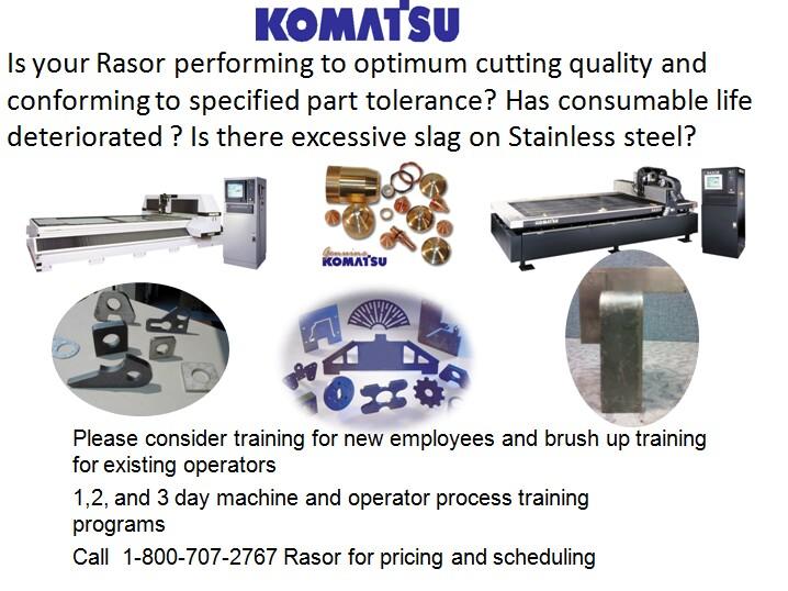 Komatsu CTD : Rasor Operator Training